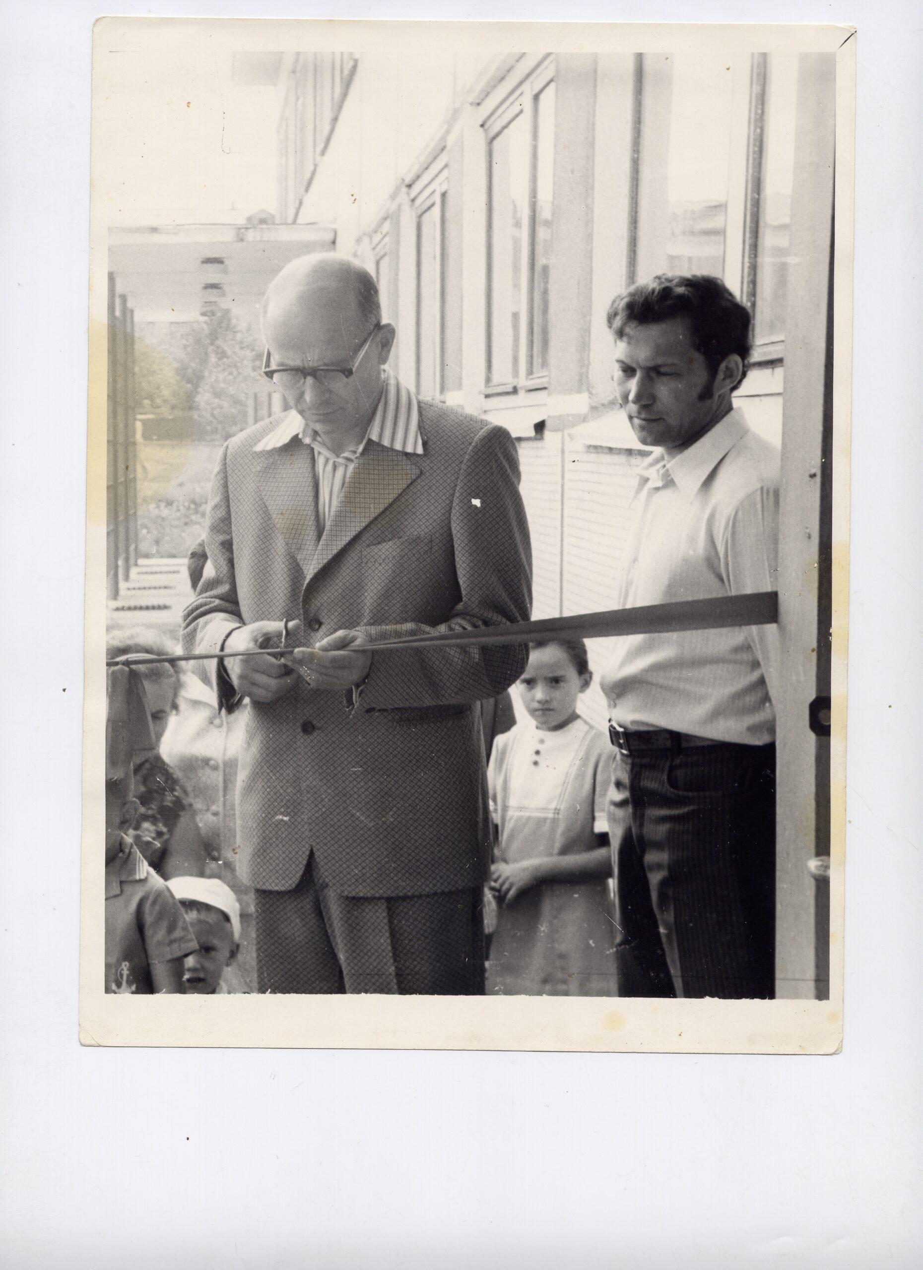 Открытие детсада АЛЁНУШКА 1987