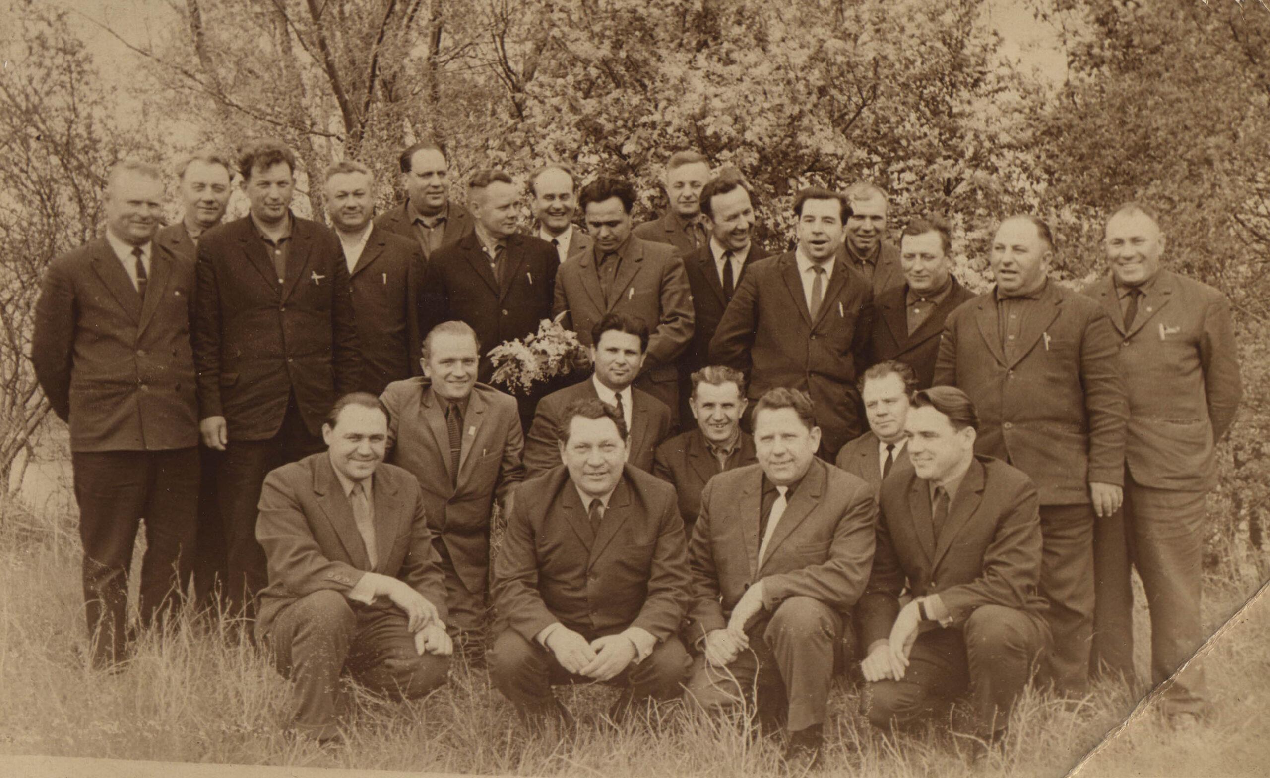 08 немцев-делегация пред к-хов Як р-на -70-е